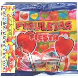 PIRULETAS FIESTA - BOLSITA CON 7 UNIDADES