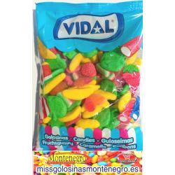 GOMINOLAS HAPPY MIX SURTIDAS VIDAL . 1 KILO