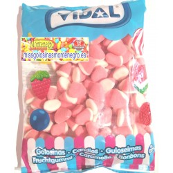 Besos fresa Nata azucar Vidal . 1 kilo
