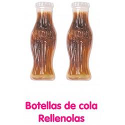 BOTELLAS COLA RELLENAS VIDAL 125UL