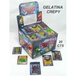 Gelatinas Creepy Jelly Vidal 66 Unidades