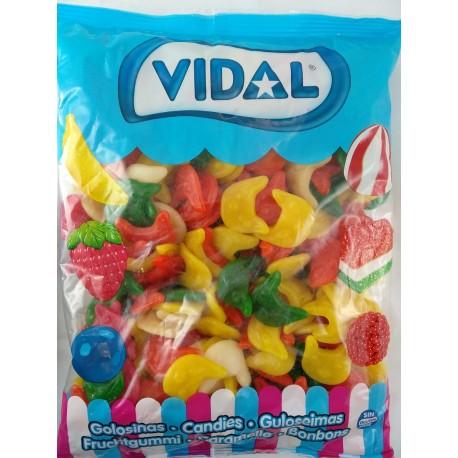 Cabezas Gato gominola Vidal 250 Unidades.