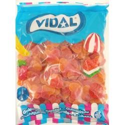 Melocotones azucar Vidal 250 unid 1,6 Kl aprox.