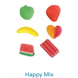 GOMINOLAS HAPPY MIX SURTIDAS VIDAL . 1 KILO