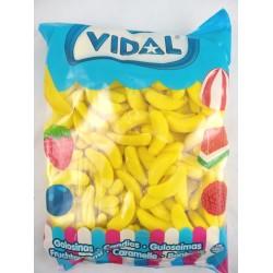 Bananas gominola azucar Vidal 250 unid