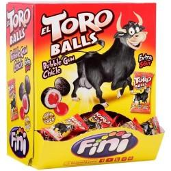TORO BALL CHICLE RELLENO FINI 200 UNID